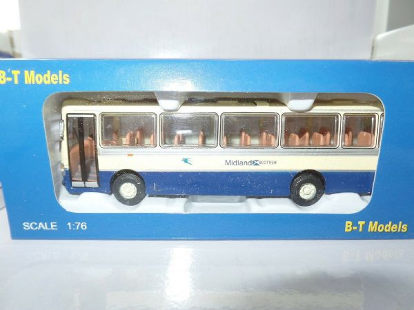 B T Models B021B 1/76 Duple Dominant Leyland Leopard Coach Midland Scottish